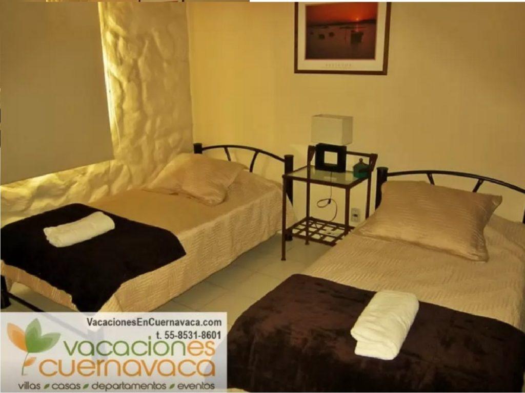 Villas Eucalipto recamara 2